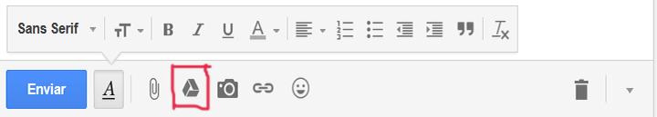 Anexar arquivo grande Gmail