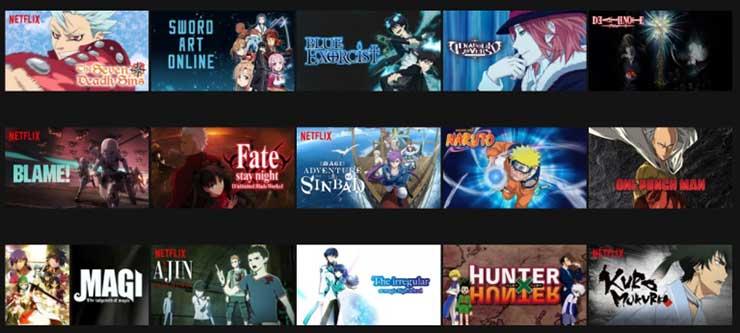 Melhores animes da Netflix