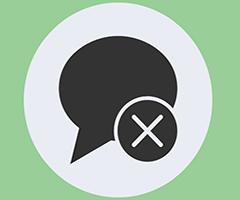 Balao de conversas para apagar no Whatsapp