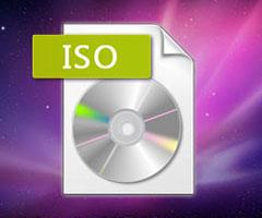 CD com arquivo ISO de imagem