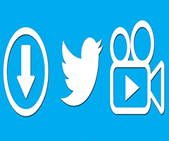 Baixar vídeo twitter com logo