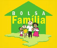 Logo Bolsa Família fundo amarelo