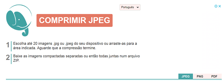 Site Comprimir JPG