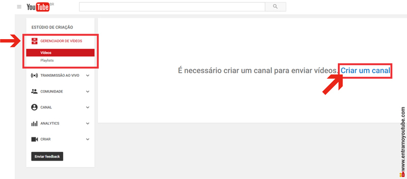Como Criar Canal Comercial no Youtube