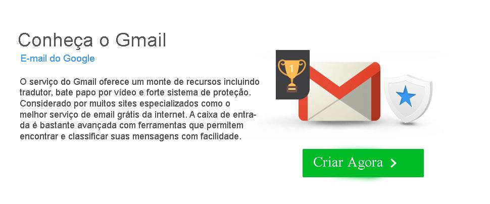 Criar Gmail conta