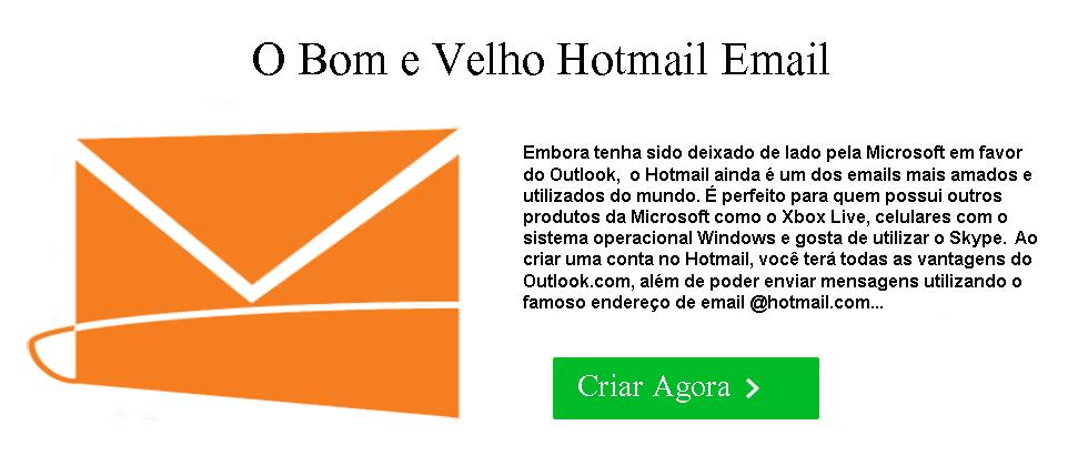 criar Hotmail