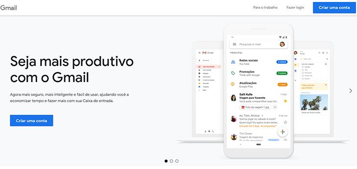 Como criar Gmail conta