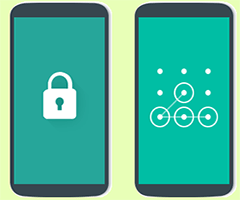 Tela de Bloqueio celular Android