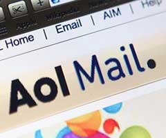 Logo email Aol Mail