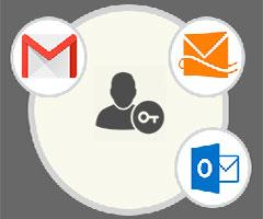 Email Entrar Login Logo