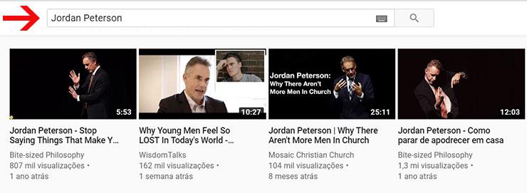 Entrar no Youtube para baixar vídeos