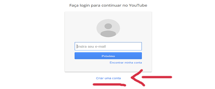 Como Entrar no Youtube login