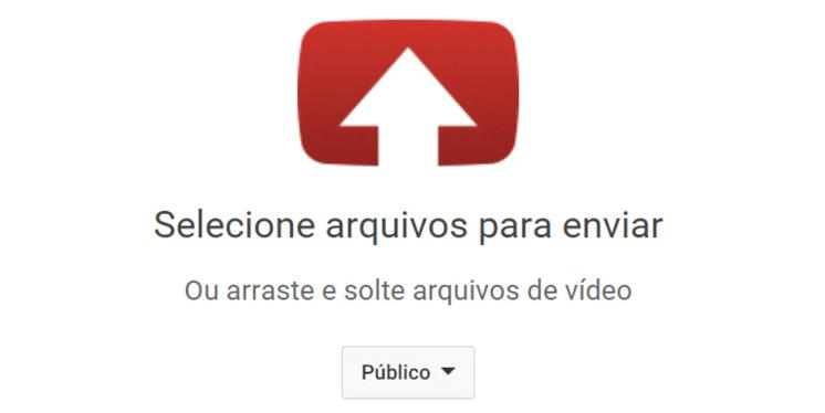 enviar video youtube