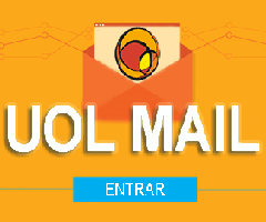 Logo do site de email Uol Mail