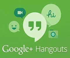 Logo Google Hangouts fundo verde