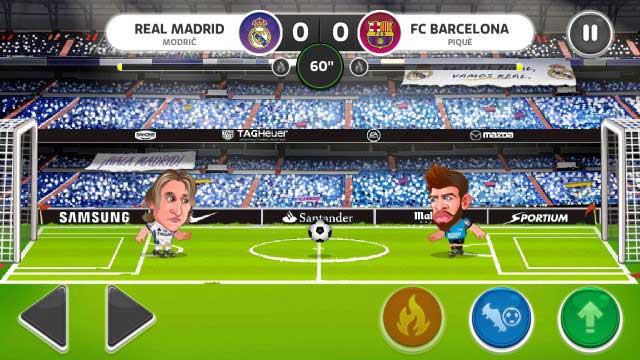 Head Soccer La Liga Game Android celular