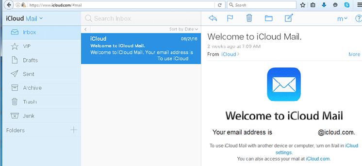 Icloud Email Apple número 1