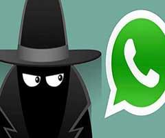 Fantasma ficando invisível no Whatsapp
