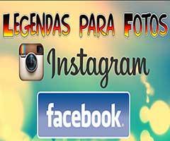 Legendas para fotos redes sociais