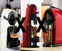 3 máquinas de café expresso