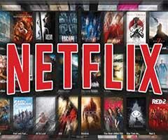 Logo Netflix com filmes e series de tv