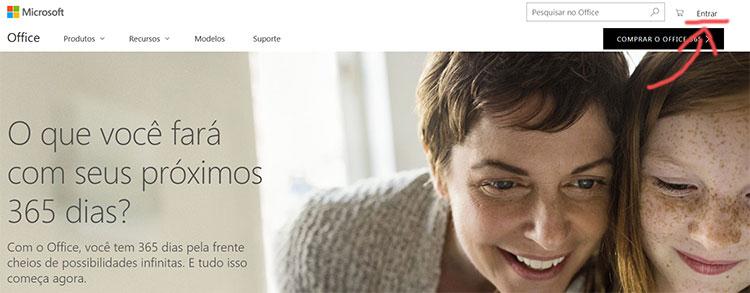 Outlook 365 Entrar Conta