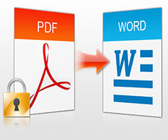 Ícono do pdf sendo convertido no ícone do Word