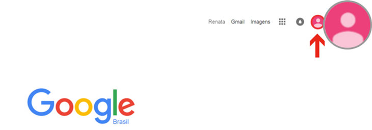 Conta Google perfil