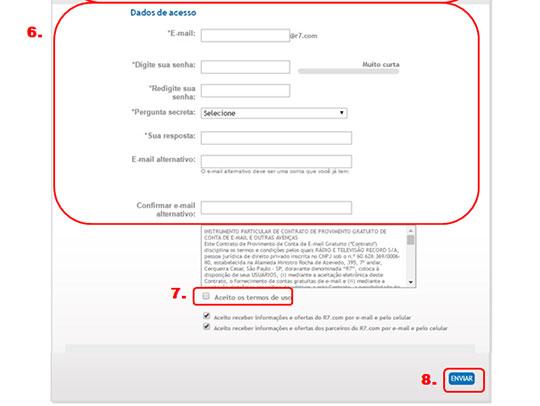 Como preencher formulario parte 2