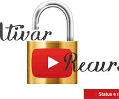 Imagem mostrando como ativar recursos do Youtube