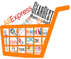 Carrinho de compras com sites para comprar da china