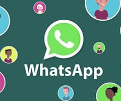 Logo do Whatsapp instalado com várias pessoas