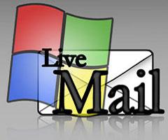 Logo do programa Windows live Mail