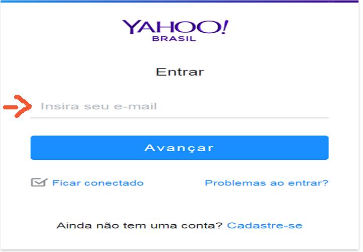 Yahoo Mail Entrar - Fazer Login www.Yahoo.com Email
